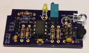 38kHz Sensor PCB
