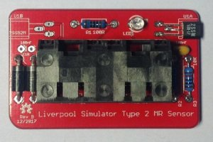 Magneto-Resistive Sensor PCB